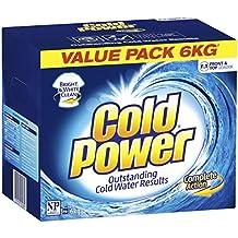 Cold Power Complete Action Powder Laundry Detergent, 6 Kilograms