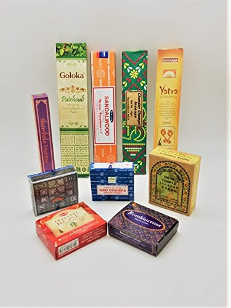 写真の確認溶接Masala Incense Varietyパック