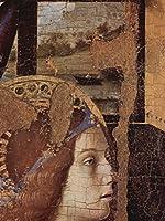 Lais Puzzle Antonello da Messina - 受胎告知、フラグメント、詳細:受胎告知天使の頭 500 部