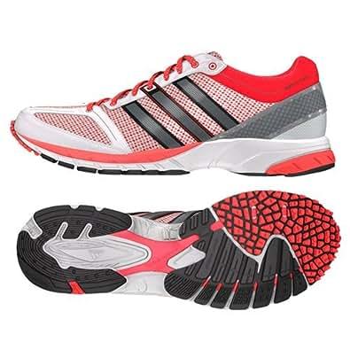 アディダス [adidas] メンズ ランニングシューズ adizero Mana 7 B34541 ランニングホワイト/アイロンメット/ソーラーレッド (29.0)