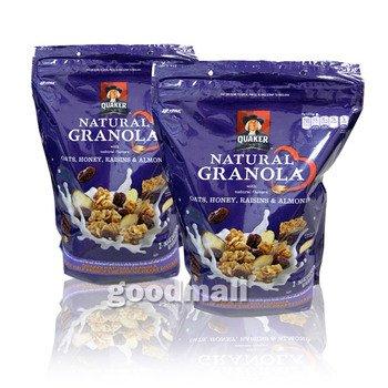 クエーカー ナチュラルグラノーラ 978g×2袋 QUAKER Natural GRANOLA