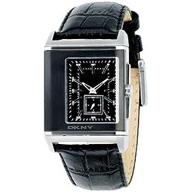 DKNY (ディーケーエヌワイ) 腕時計 ダナ・キャラン・ニューヨーク スポーツ ブラック NY1374 メンズ
