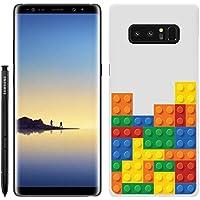 [Breeze-正規品] iPhone ・ スマホケース ポリカーボネイト [WHITE] Samsung Galaxy NOTE8 ケース SC-01K/SCV37 兼用 ギャラクシーノート8 galaxy note8 ケースカバー 液晶保護フィルム付 全機種対応 [GNT8]