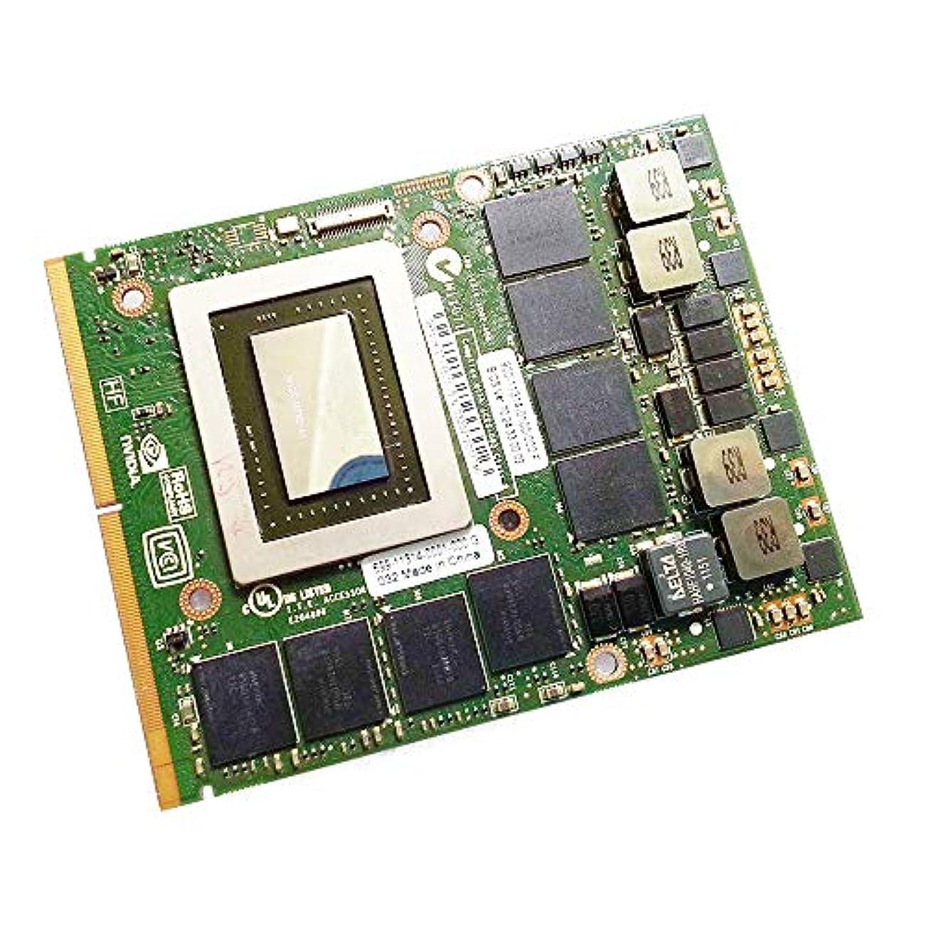 多用途聡明最も遠い新しいfor NVIDIA GeForce GTX 580M GDDR5 2GB Graphics Cardグラフィックボード、for Alienware M15X R1 R2 M17X R1 R2 R3 M18X R1ゲーミングノートパソコン、MXM 3.0B VGA GPU Replacement修理部品