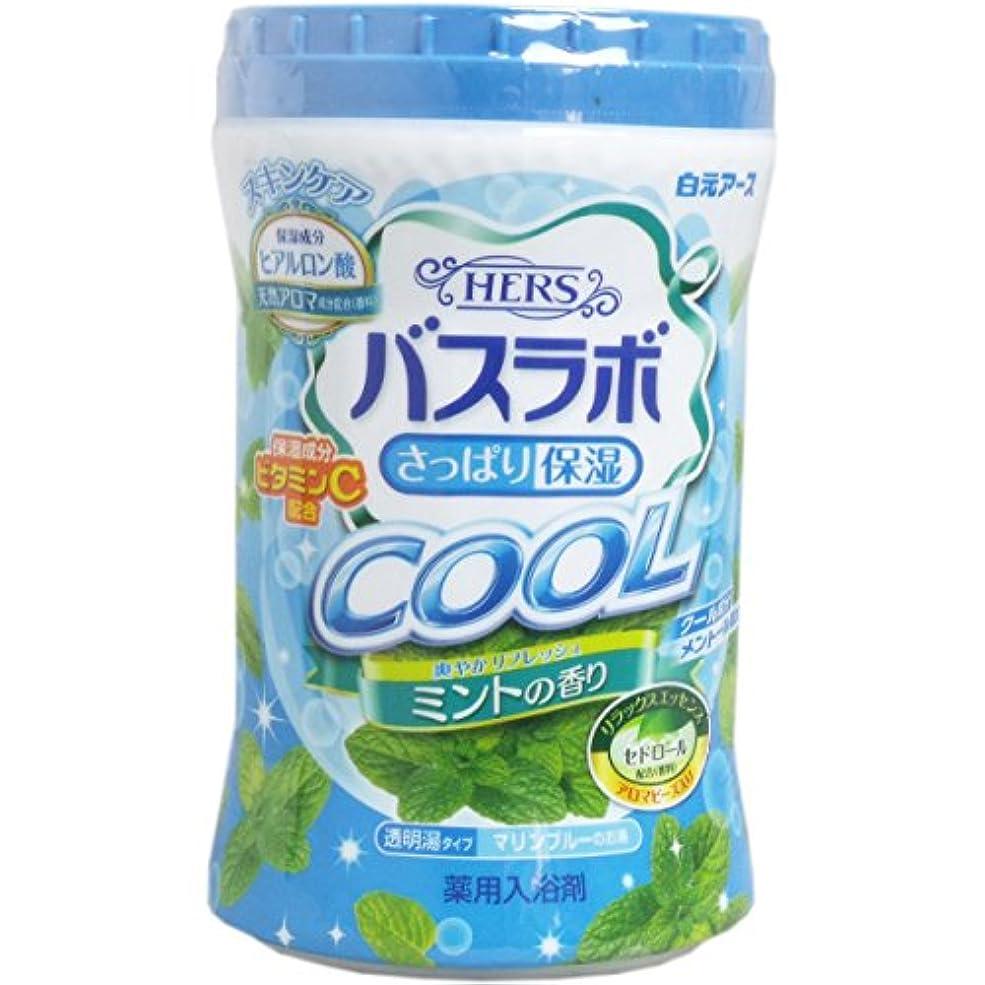 法廷中国ご近所HERSバスラボ ボトル クール ミントの香り 640g