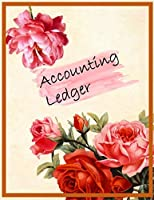 Accounting Ledger: 120 pages | Size 8.5 x 11 inches (double-sided) | Journal Business Financial Record Notebook | Accounting Paper | Quality Paper | Date, Account | Memo | Debit | Credit | Balance | perfect binding | non-perforated