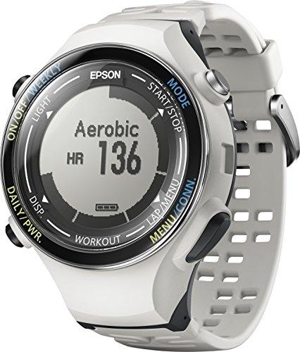 [エプソン リスタブルジーピーエス]EPSON Wristable GPS 腕時計 ランニングウォッチ GPS機能 脈拍計測 SF-850PC