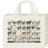 エムワイディエス(MYDS) 猫のリスト/キャンバス スクエア トートバッグ