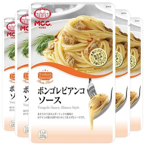 エム・シーシー食品 ボンゴレビアンコソース 120g×5袋