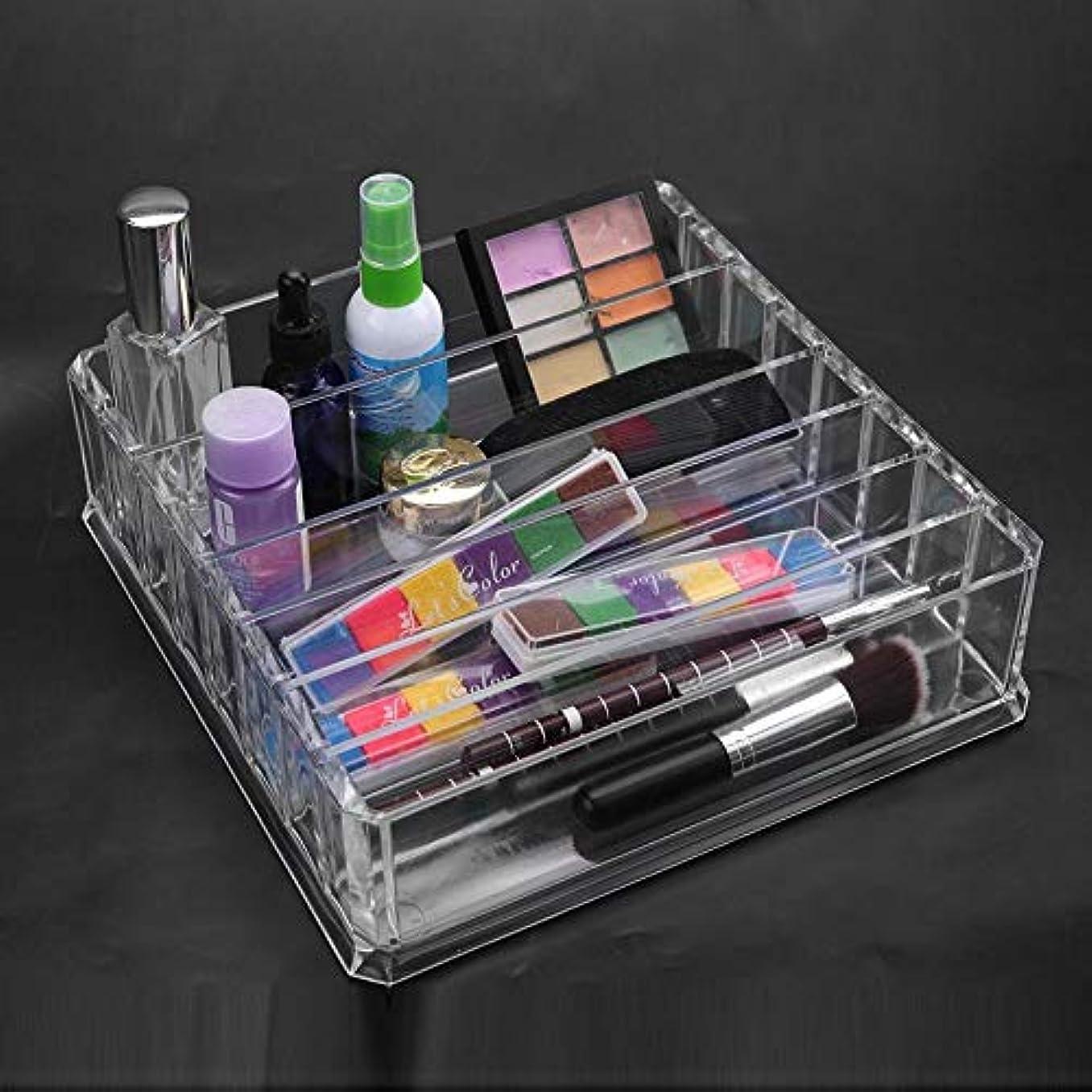 東方パイル動かすOkuguy 多機能拡張表引き出しクローゼット化粧品収納ケースホルダールームオーガナイザーL