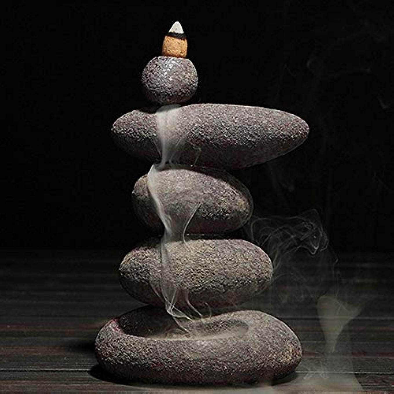 書士ベックス調和お香 20個入り セラミック 香炉 逆流香 装飾レトロ 禅 仏教 アロマ リラクゼーション