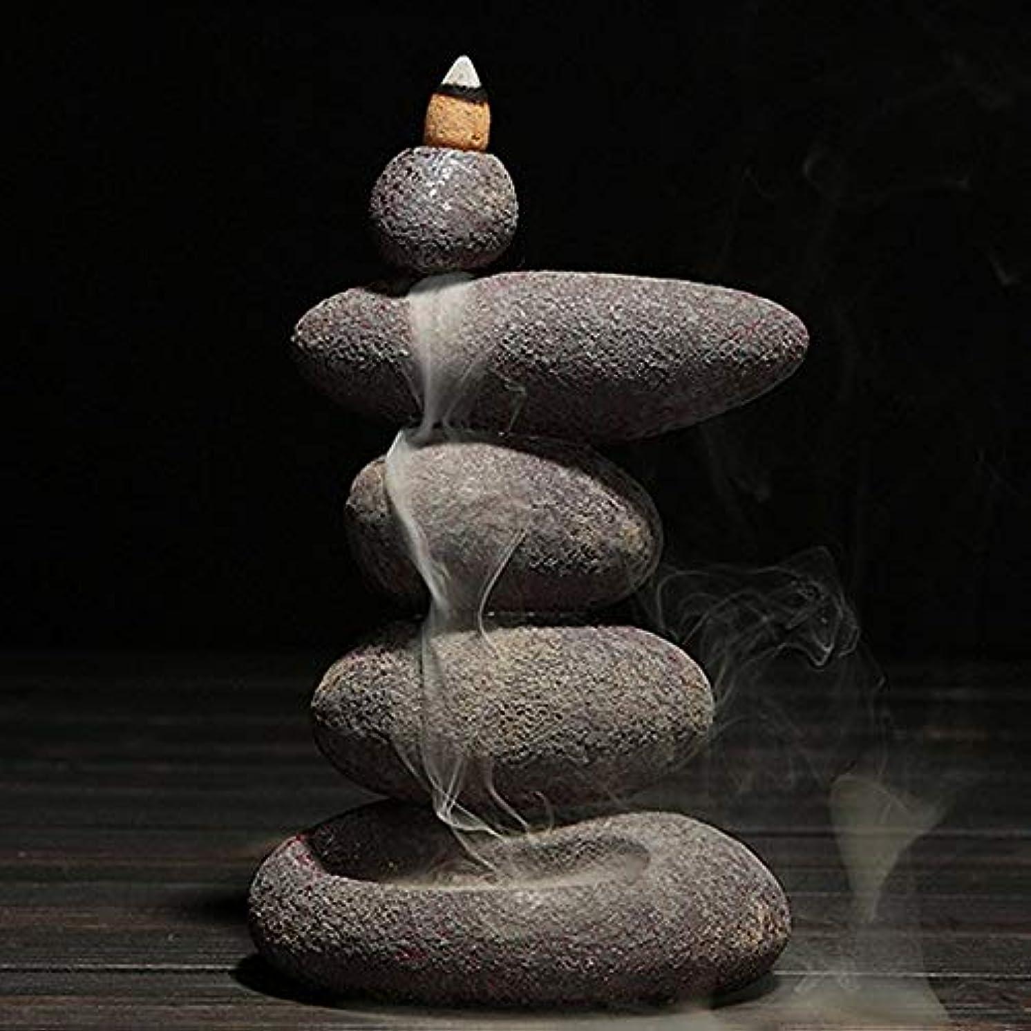 レーニン主義合体救出お香 20個入り セラミック 香炉 逆流香 装飾レトロ 禅 仏教 アロマ リラクゼーション