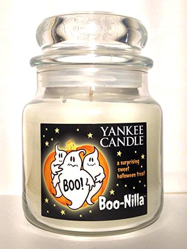 平和な数学遡るYankee Candle boo-nilla Boonilla Vanilla Marshmallow香りHalloween Candle