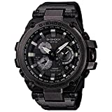 (カシオ) CASIO G-SHOCK Tough Solar Powered Dual World Time Analog Steel Watch - MTGS1000V-1A [並行輸入品] LU
