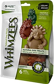 Whimzees WHZ315 Hedgehog Dental Treats Chews for Large Dogs (6 Pieces)