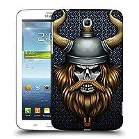 Head Case Designs バイキング スカル・ウォリアーズ ハードバックケース Samsung Galaxy Tab 3 7.0