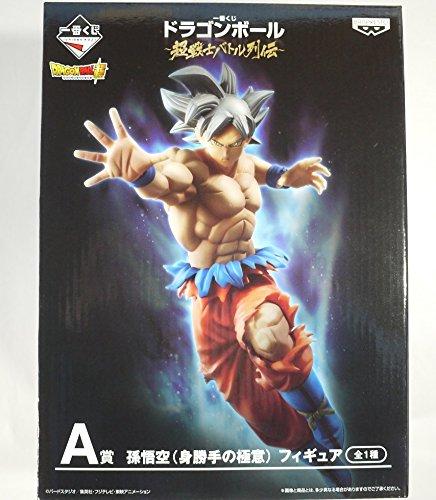 一番くじ ドラゴンボール 超戦士バトル列伝 A賞 孫悟空 身勝手の極意 フィギュア