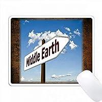 Arrowを使って楽しい中東のサインをプリント PC Mouse Pad パソコン マウスパッド