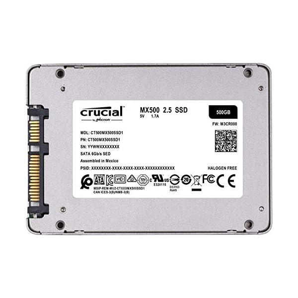 Crucial SSD 500GB 7mm /...の紹介画像8