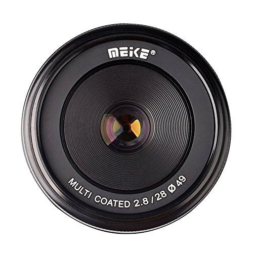 Meike MK28mm f/2.8 固定レンズ APS-C(MF)手動フォーカス for Sony ソニー Emount カメラ