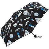 ワールドパーティー(Wpc.) キウ(KiU) 雨傘 折りたたみ傘  ブラック 黒  50cm  レディース メンズ ユニセックス K33-133
