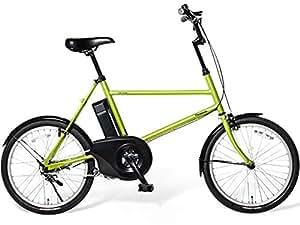 Panasonic(パナソニック) 2015年モデル ene mobile(エネモービル) カラー:ファインリーフ 20インチ BE-ENB01-G 電動アシスト自転車 専用充電器付