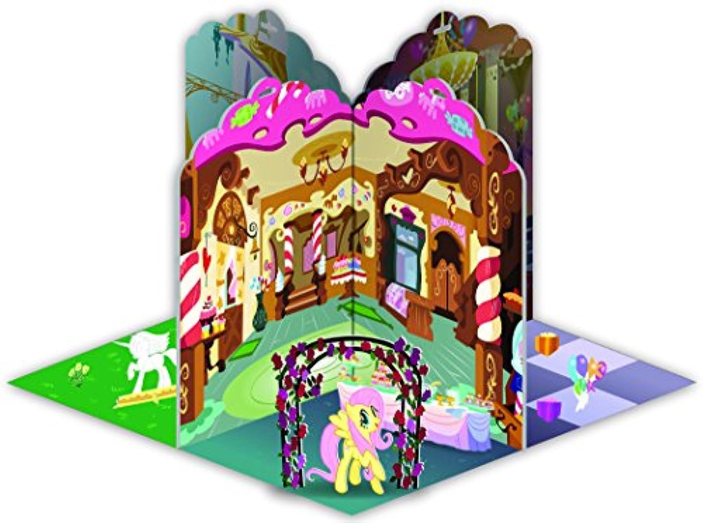 My Little Pony 3D Ponyville Pop-Up Book by My Little Pony [並行輸入品]