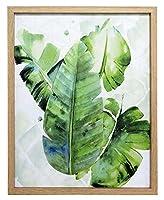 あまの(Amano) アートフレーム/植物・花 オーガスタ (約) 幅40×奥行き2.5×高さ50cm