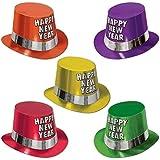 Fluorescnt Happy New Year Hi Hat