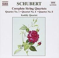Complete String Quartets: Quartet No.1 / Quartet No. 4 / Quartet No. 8 by F. Schubert (2002-05-03)