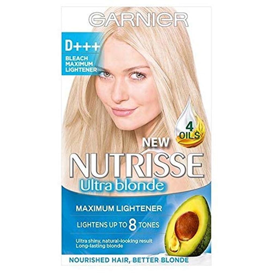 連合正気ウェイド[Garnier ] ガルニエNutrisse D +++漂白ライトナーパーマネントヘアダイ - Garnier Nutrisse D+++ Bleach Lightener Permanent Hair Dye [並行輸入品]
