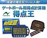 ゲートボール ニチヨー 大型画面計算機 得点王 ゲートボールスコアー GT-800 スコアー カウンター