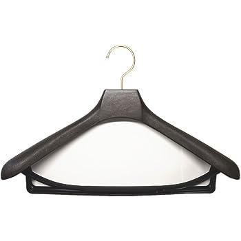(ツサカテーラー) TsusakaTailorメンズ スーツ用 ハンガー ブラウン 40cm 5本セット