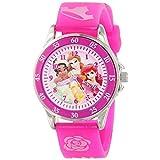 ディズニー Disney Kids' PN1051 Disney Princess Pink Band Watch 女の子 ガールズ 腕時計 【並行輸入品】
