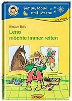 Lena moechte immer reiten