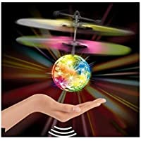 Flying Ball, Sumilulu Flying RC Ball Infrared Induction Mini Aircraft Flashing Light Remote Toys For Kids [並行輸入品]