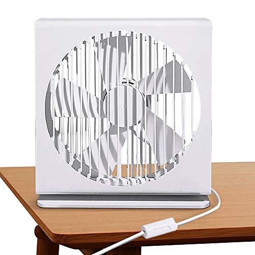 【自然な風が心地よい】卓上扇風機 USB扇風機 超静音 扇風機 大風量 折り畳み式 Ameyes 卓上扇風機 超薄5枚羽根 180度角度調整 長時間連続使用 ミニ扇風機 ハンディファン 熱中症対策 ホワイト