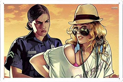 テレビゲームのティンサイン 金属看板 ポスター / Tin Sign Metal Poster - J-GAM01373