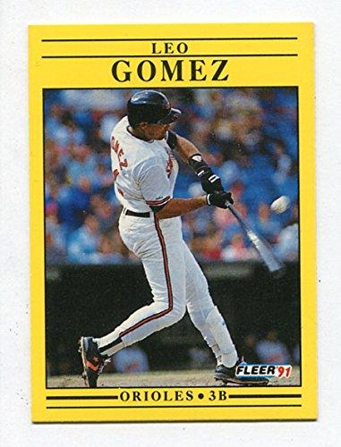 Leo Gomez - 1991 Fleer #472 - 来日外国人(中日) レオ・ゴメス