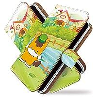 KEIO ケイオー iPhone6 Plus カバー 手帳型 ゆるキャラ iPhone 6 PLUS 手帳 風景 iPhone6 ケース Plus ケース ぐんまちゃん 池 アイフォン 手帳型ケース アイフォーン 手帳型ケース アイフォン6プラス 手帳型ケース ittnぐんまちゃん池t0030