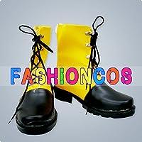 ★サイズ選択可★男性27.5CM UA0462 ファイナルファンタジー ティーダ コスプレ靴 ブーツ