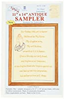 "Stamped Antique Sampler 11""X14""-Lord's Prayer (並行輸入品)"