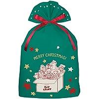 インディゴ ディズニー トイ・ストーリー クリスマスバッグ4L トイ・ストーリー/フレンズ グリーン DG098