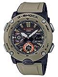 カシオ G-Shock GA2000-5A カーボンコアガード ベージュ樹脂ウォッチ