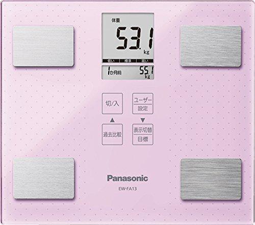 パナソニック 体重・体組成計 ライトピンク EW-FA13-M