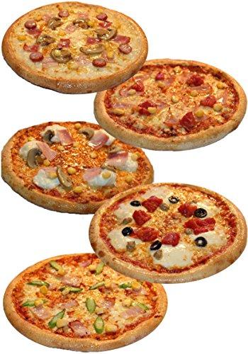 ピザ・カンピオーネ 冷凍 ピザ 5枚Bセット 【 ミックスビザ / モッツアレラトマト / アスパラベーコン / ホワイトコンボ / ポテトベーコン 】 手作り 国産小麦 使用 直径約 直径約22cm