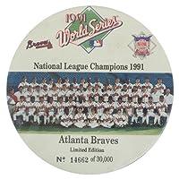メジャーリーグ アトランタ・ブレーブス ワールドシリーズ 1991 バッジスタンド - [並行輸入品]