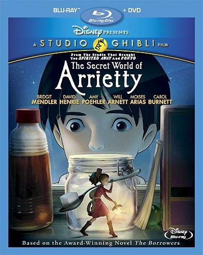 借りぐらしのアリエッティ(北米版) (2枚組Blu-ray/DVDコンボ)[Import]