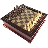 10 in 1 Wooden Multi-Game Chess Set