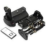 DSTE® プロ 互换 BG-E9 赤外線 リモコン 垂直 バッテリーグリップ のために Canon キャノン EOS 60D 60Da カメラ